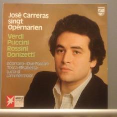 JOSE CARRERAS - SING OPERA (1977/ PHILIPS REC/RFG)- Vinil/Vinyl/IMPECABIL/OPERA - Muzica Opera universal records