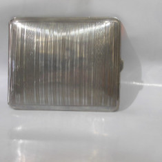 De colectie ! Tabachera veche din argint masiv, anii'30, conditie foarte buna!