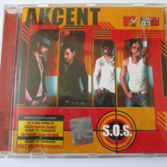 RAR! CD AKCENT ALBUMUL S.O.S. ROTON 2005 - Muzica Pop