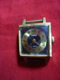 Ceas de dama Zaria ,mecanic ,functional ,anii '70 URSS ,17 rubine ,l=2,3 cm, Mecanic-Manual, Analog