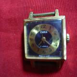 Ceas de dama Zaria, mecanic, functional, anii '70 URSS, 17 rubine, l=2, 3 cm - Ceas dama, Analog