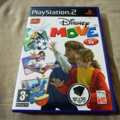 Joc Disney Move, Eye Toy, PS2, alte sute de jocuri! - Jocuri PS2 Altele, Sporturi, 3+, Multiplayer