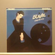 FRANK DUVAL - LIVING LIKE A CRY (1984/ TELDEC REC /RFG)- Vinil/Vinyl/IMPECABIL - Muzica Pop universal records