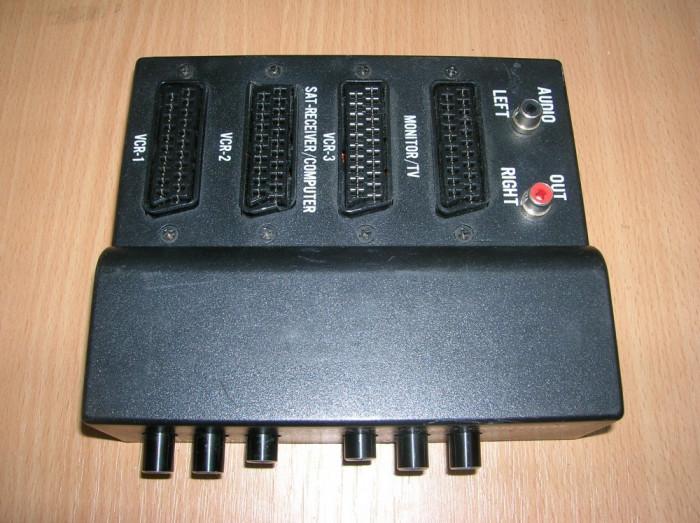 scart video control