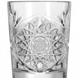 Pahar din sticla model Hobstar, 350 ml
