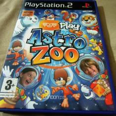 Joc Astro Zoo, Eye Toy, PS2, alte sute de jocuri! - Jocuri PS2 Altele, Actiune, 3+, Multiplayer
