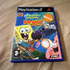 Joc Spongebob Squarepants movin' with friends, eye toy PS2, alte sute de jocuri! - Jocuri PS2 Altele, Actiune, 3+, Multiplayer