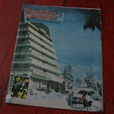 Revista Sanatatea -  nr 2 februarie 1990 / 24 pagini !!!