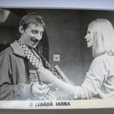 Fotografie originala, film romanesc, O lebada iarna, 16,5/12, Necirculata