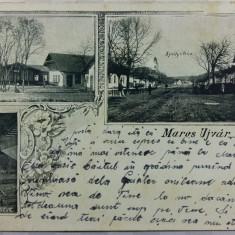 OCNA MURES - MAROS UJVAR - CLASICA - MOZAIC DE IMAGINI - INCEPUTUL ANILOR 1900 - Carte Postala Transilvania pana la 1904, Circulata, Fotografie