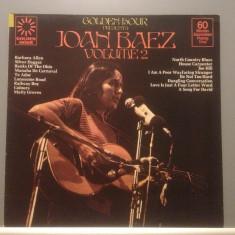 JOAN BAEZ - GOLDEN HOUR - BEST (1977/ VANGUARD REC/RFG) - VINIL/VINYL/IMPECABIL - Muzica Rock universal records