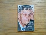 CORNELIU COPOSU * Marturisiri in dialog cu Vartan Archelian - 1996, 213 p.