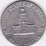 Moneda Statele Unite ale Americii 1/2 Dolar 1976D - KM#205 XF+ (bicentenar), America de Nord
