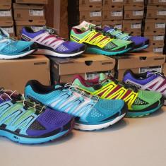 Salomon X-Scream W (dama), pantofi alergare suprafata mixta asfalt + trail - Adidasi dama Salomon, Culoare: Mov, Marime: 38, Textil