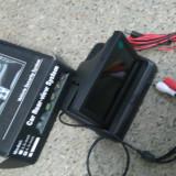 Display ecran color 12v NOU auto 10 cm NOU pt camera spate marsarier - Camera mers inapoi