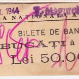 Banderola 100 bucati bancnote 500 lei 1940-1944 BNR sucursala Turnu Magurele (4) - Bancnota romaneasca