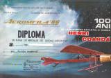 Bnk fil Aerofilatelie - Aeromfila 1986 Craiova - diploma + plicuri ocazionale