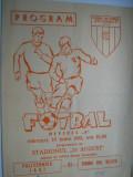 Program meci de fotbal - Politehnica Iasi - Chimia Rm.Valcea (10 iunie 1981)
