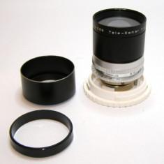 Obiectiv KODAK camera Schneider Kreuznach RETINA TELE XENAR f4 135mm(28) - Obiective RF (RangeFinder)