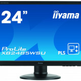 Monitor LED Iiyama ProLite XB2485WSU-B3, 24 inch, 16:10, 4 ms, negru