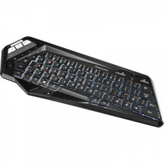 Tastatura Mad Catz STRIKE M, Gaming, Fara fir, Bluetooth, Tastatura iluminata