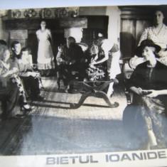 Fotografie originala, film romanesc, Bietul Ioanide, 16,5/12, Necirculata