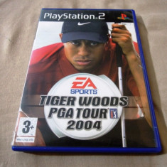 Joc Tiger Woods PGA Tour 04, PS2, original, alte sute de jocuri! - Jocuri PS2 Ea Sports, Sporturi, 3+, Multiplayer