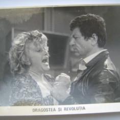 Fotografie originala, film romanesc, Dragostea si revolutia, 16,5/12, Necirculata