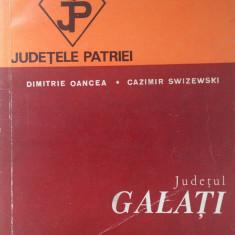 JUDETELE PATRIEI - JUDETUL GALATI - Carte Geografie