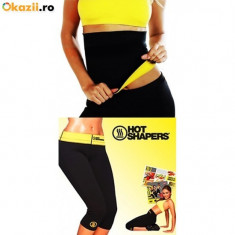 Set pantaloni si centura pentru slabit Hot Shapers, Costum fitness