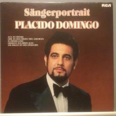 PLACIDO DOMINGO - SINGER PORTRAIT (1976/ RCA REC /RFG)- Vinil/Vinyl/IMPECABIL - Muzica Opera rca records