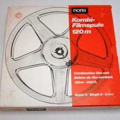 Rola film 8mm marca Noris 120 m(46) - Aparat Filmat