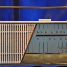 Radio portabil Anii 60 TELEFUNKEN : Famulus 3971. Radio vechi,de colectie + Husa
