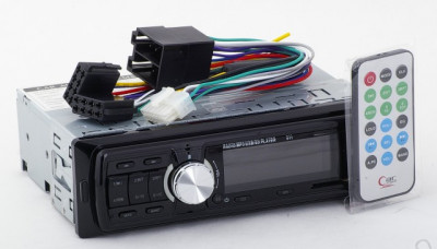 LICHIDARE STOC! MP3 AUTO CU STICK USB,CARD,TELECOMANDA,RADIO ,4X50WATT,AFISAJ. foto