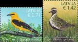 LETONIA 2015, Fauna - Pasari,  serie neuzată, MNH
