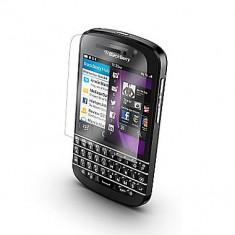 Folie protectie Blackberry Q10 transparenta - Folie de protectie