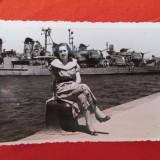 Fotografie veche vas de razboi WW2, poza crucisator al doilea razboi mondial