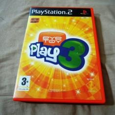 Joc Eye Toy Play 3, PS2, alte sute de jocuri! - Jocuri PS2, Simulatoare, 3+, Multiplayer