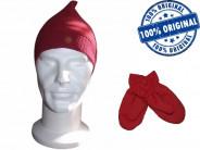123123Set copii Adidas caciula si manusi - caciula originala - caciula iarna
