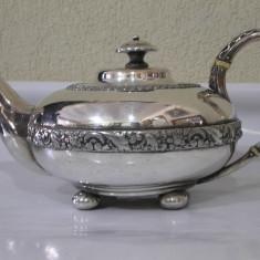 De colectie ! Superb ceainic vechi argintat anii' 20 !