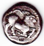 Grecia stater argint antic PAROS copie oficiala cu certificat si prospect, Europa