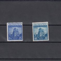 ROMANIA 1937, LP 120 MICA ANTANTA SERIE MNH - Timbre Romania, Nestampilat