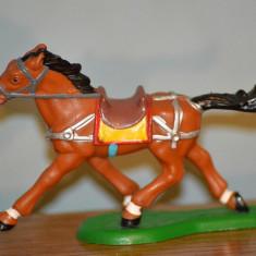 Figurina cal de calarie, 1995, 10.5x7.5cm, vintage, colectie, decor, diorama - Figurina Animale