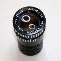 Obiectiv proiector Will-Wetzlar Vario-Travenon 1:1.3 16.5-30mm (61) - Obiectiv DSLR