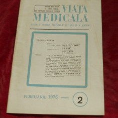 Revista Viata Medicala - nr 2 februarie 1976 / 32 pagini