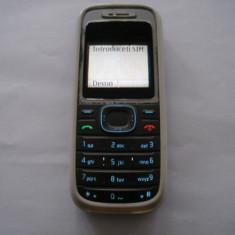 Nokia 1208 blocat in reteaua Vodafone - Telefon Nokia, Nu se aplica, Single SIM, Fara procesor