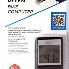 Vitezometru (odometru) pt bicicleta cu multe functii - instructiuni in romana, Ciclocomputer bicicleta