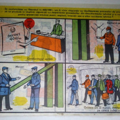Chestionar protectia muncii - CUNOSTINTE MINIME (IX) - decret 400/ '81