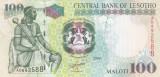 Bancnota Lesotho 100 Maloti 2009 - P19e UNC