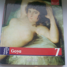 VIATA SI OPERA LUI GOYA GIULIANA SERAFINI NR 7 - Album Pictura, Adevarul